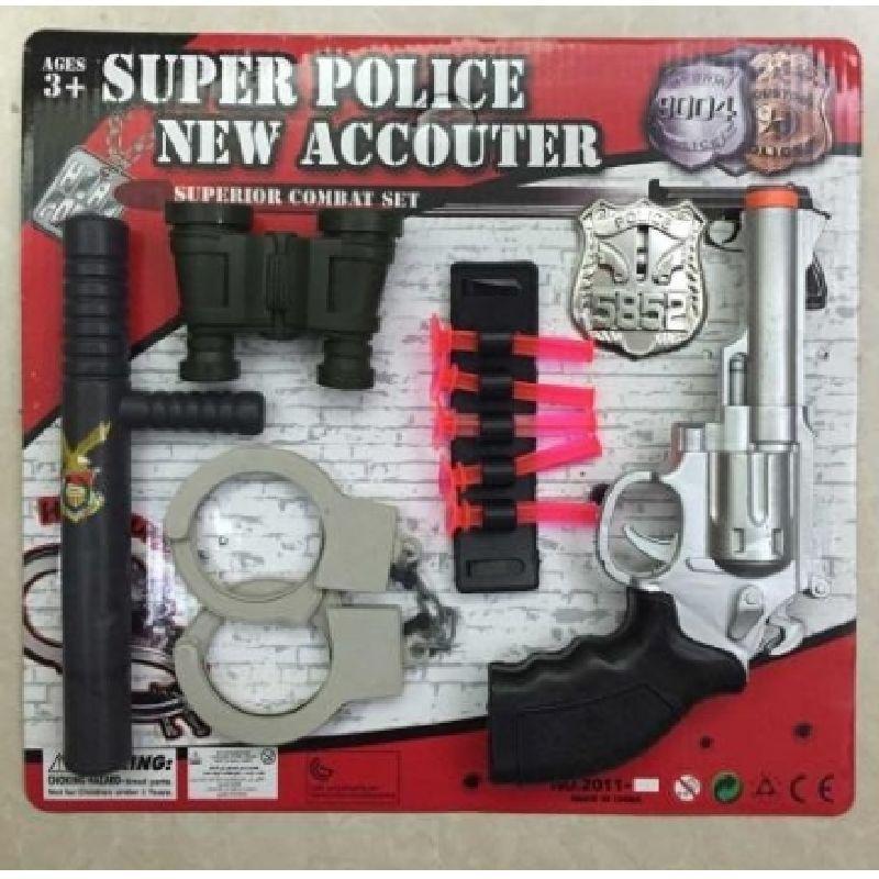 Dr�mmer du om at v�re politi og fange mange r�ver, er dette et  godt s�t at starte med.<br>