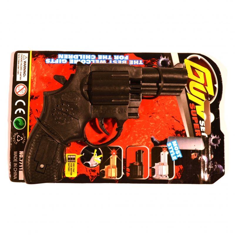 En smart pistol med gode lydeffekter.