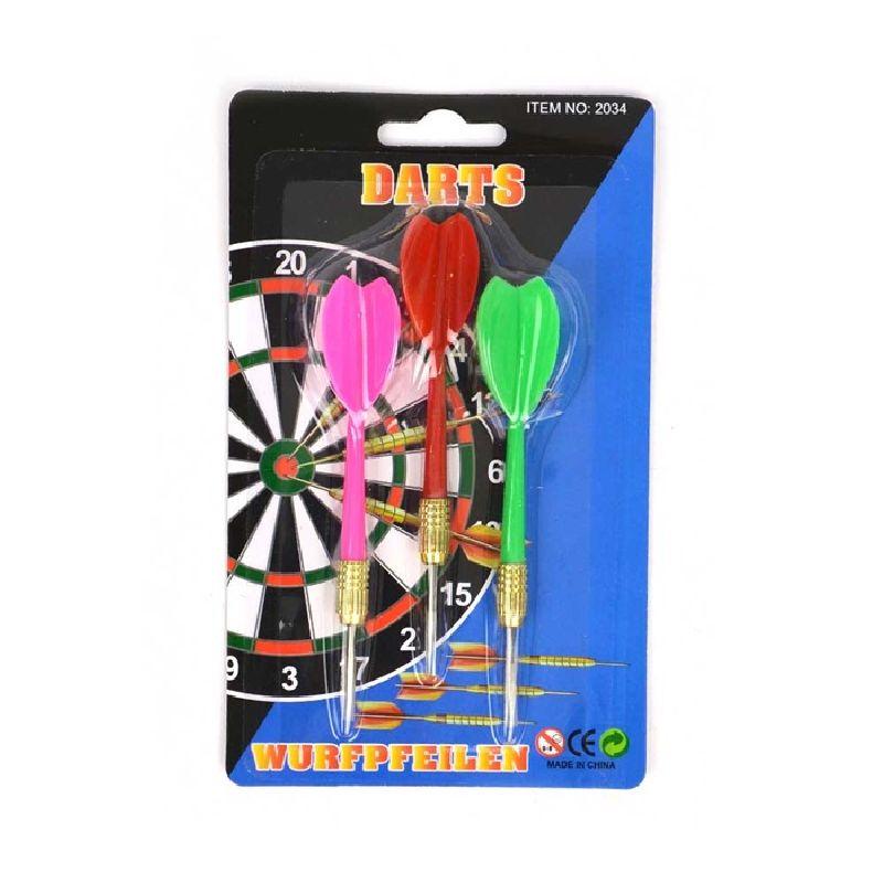 Dartpile med metal ende. Kan bruges til at spille dart.  Kaste efter en skive og se hvor mange point man får. Spil  imod vennerne , se hvem der vinder.