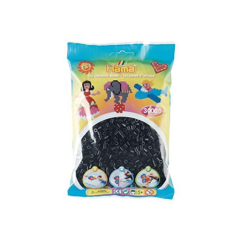 N�r man arbejder med Hama midi perler kommer man ikke uden om  de sorte perler, da de flest motiver har nogle sorte perler i  mellem.