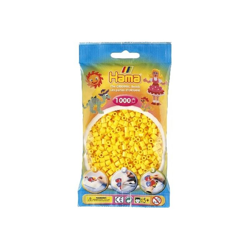 midi perlerne er den meste nomale størlse af Hama®s  perler og de findes  i ca. 60 forskelige farver.