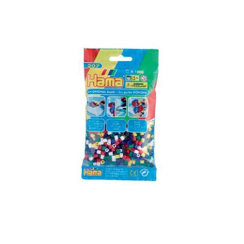 midi perlerne er den meste nomale st�rlse af Hama�s perler og  de findes  i ca. 60 forskelige farver.