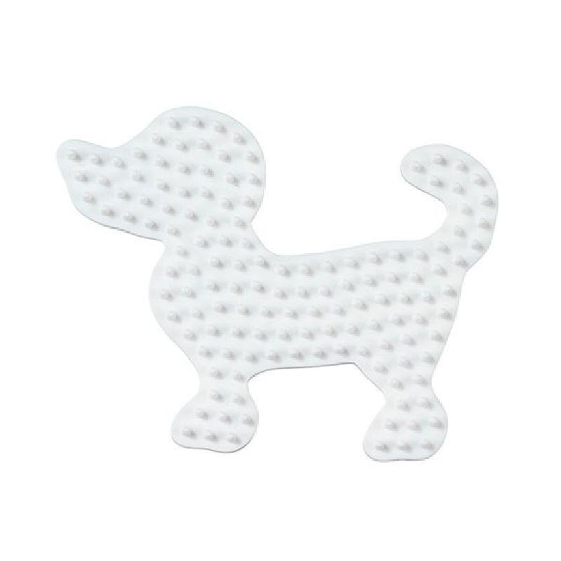 Lav en s�d eller farlig hund med dine Hama midi perler, denne  plade er kun en ud af de mange fine plader der findes til Hama  midi perler