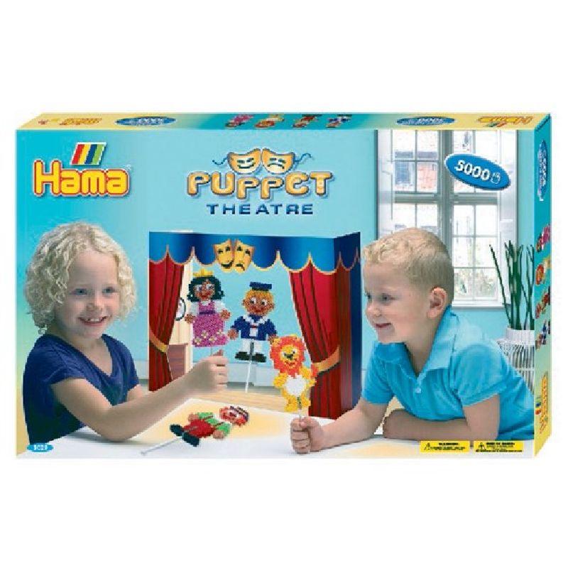 Lav og leg Dukketeater med Hama� midi perler