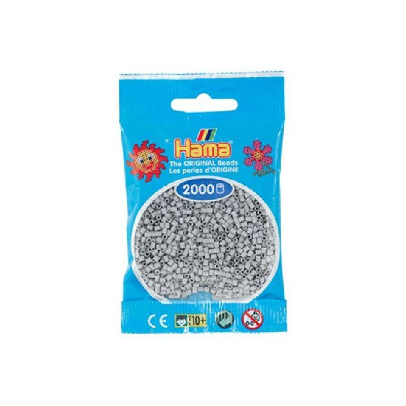 Mini perlerne er de mindste af Hama�s perler og de findes  i +50 forskellige farver. Man kan lave mange detaljeret motiver med Hama� mini  perler.