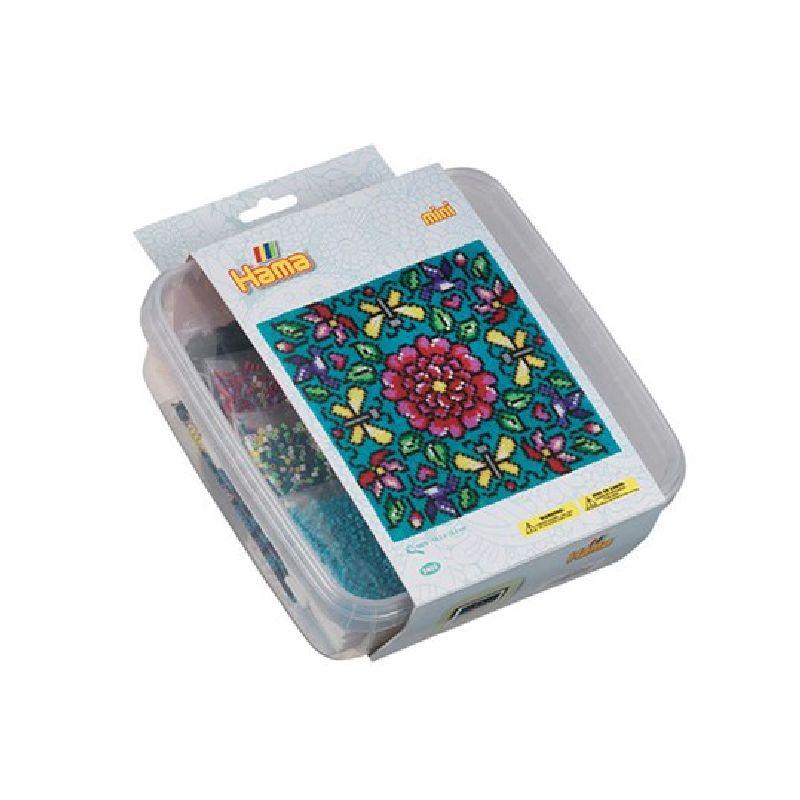 Lav flotte mønster med Hama mini perler som er de mindeste perler fra Hama.<br> En god start æske hvis du vil starte med Hama mini perler