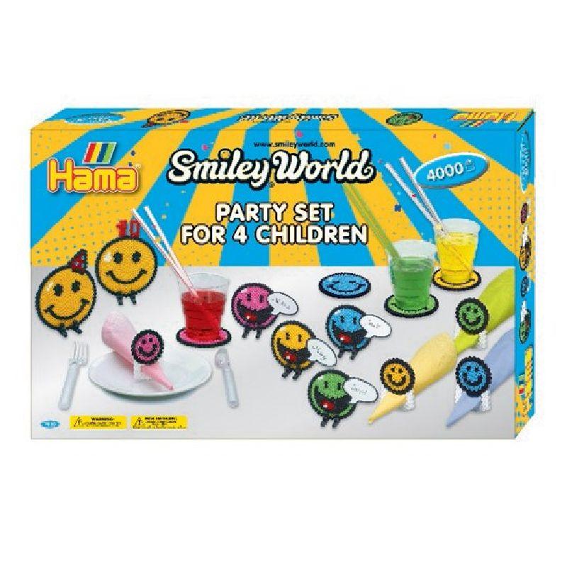 Lav og leg Smiley s�t med Hama� midi perler