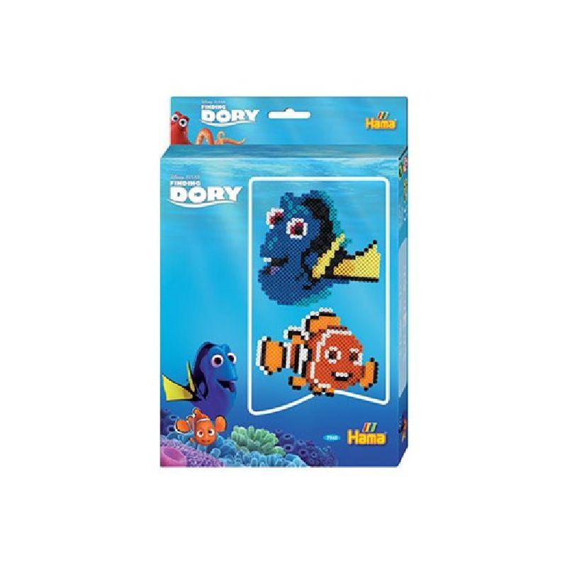 De sjove og s�de figure fra Disney filmen Find Dory kan du ogs� lave med Hama midi perler