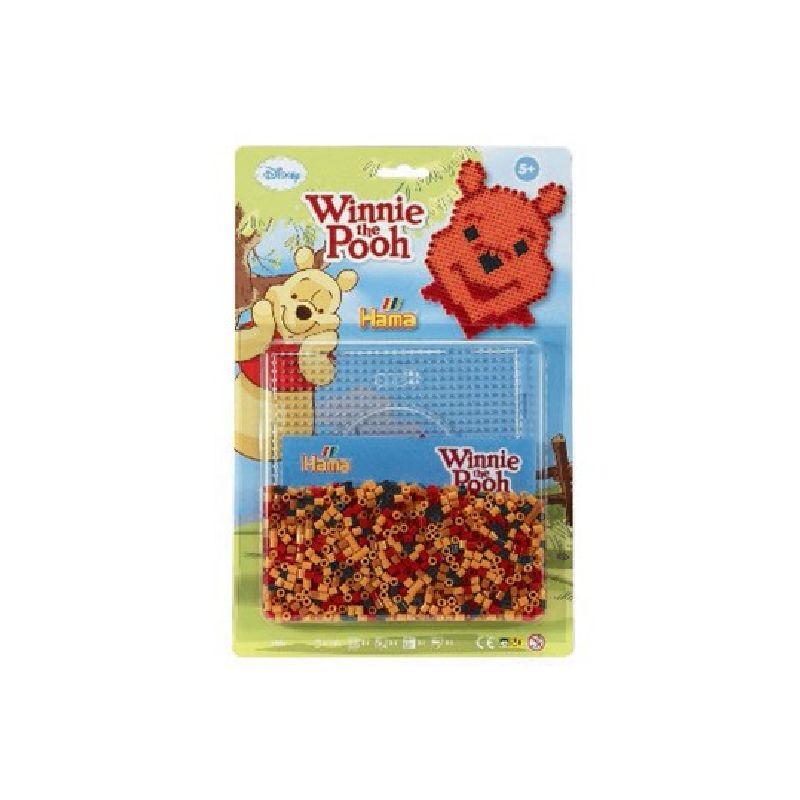 Lav motiv fra Disney filmen Peter Plys/Winnie the Pooh med Hama� midi perler
