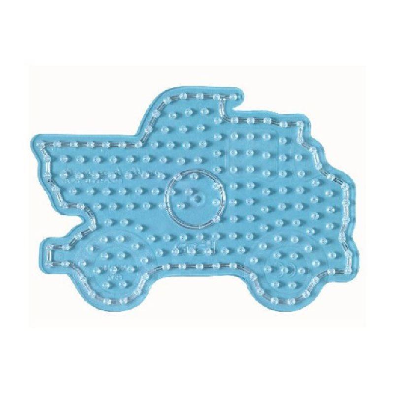 En sp�ndende figur plade til de popul�re maxi perler fra  Hame� perfekt til de sm� nybegynder.