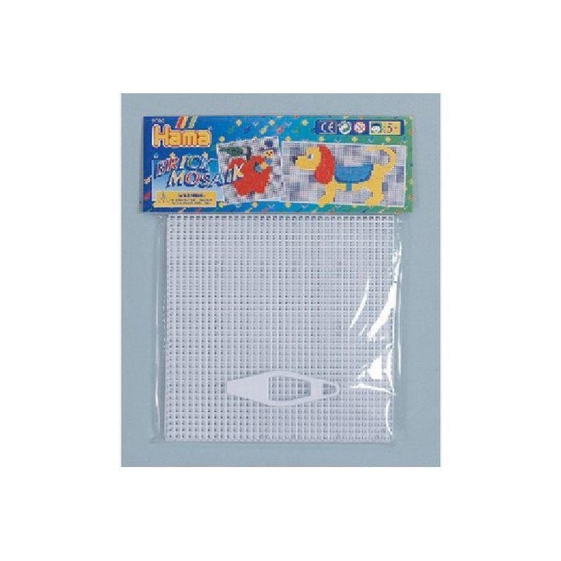 Hama plader til mosaik. Mosaik perleplader. Kan bruges til at  lave m�nstre med. Kan s�ttes sammen til en stor plade. Lav  mange forskellige motiver.