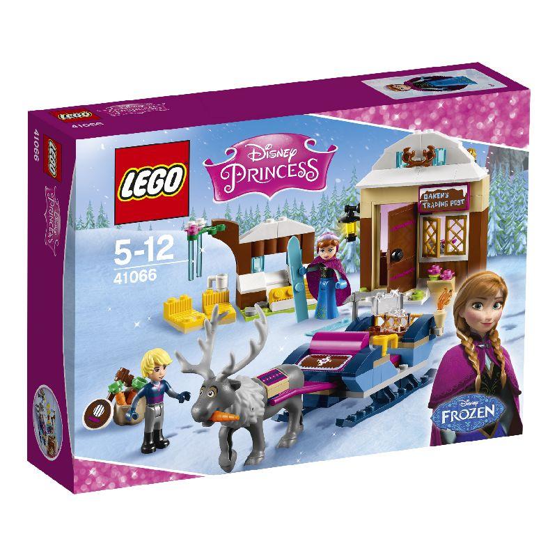 Lego�ske med Anna, Kristoffer og rensdyret Svend. Sl�de ,  hus og mange andre ting. Samle klodserne efter  samleh�fte. Leg med vennerne.