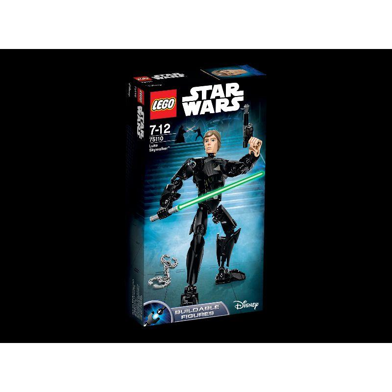 Lego�ske med Luke Skyvalker. Figur fra Star wars. Med  lyssv�rd og skyder. Samle figuren og leg Star wars. Leg  med vennerne.