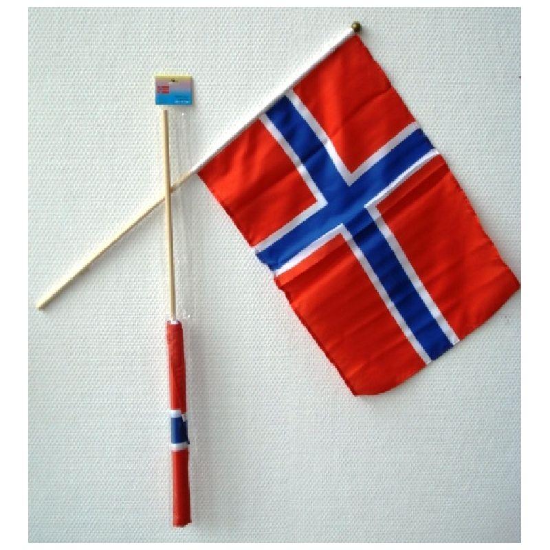 Skal du holde Norsk fest, til Norsk landskamp eller venter du bes�g fra Norge, er det lige sagen med denne flag.