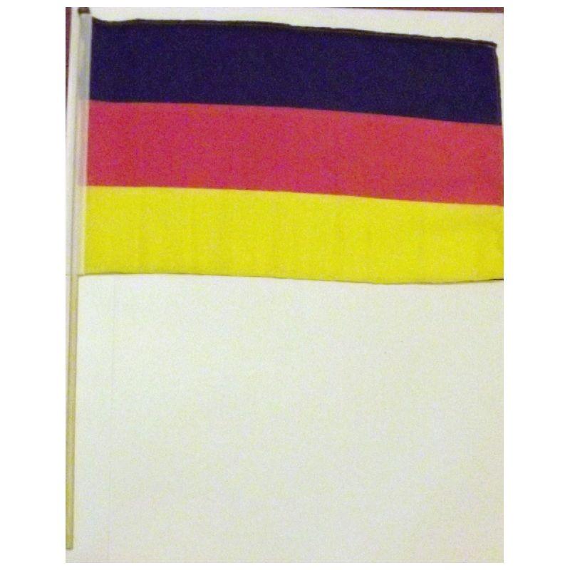 Skal man holde tysker fest, havde tyske venner p� bes�g vil denne flag v�re p� sin ret.