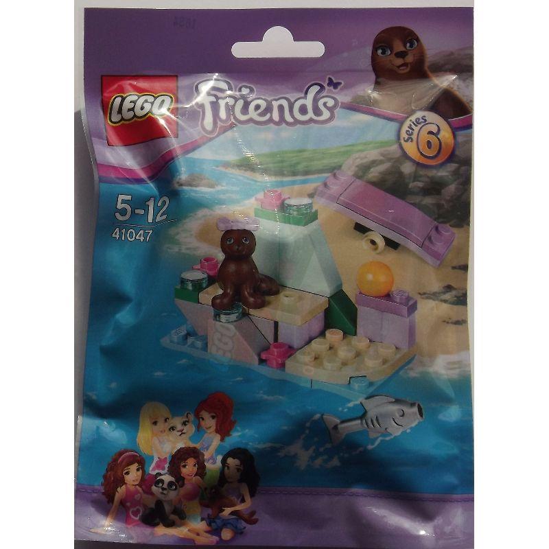 Lego Friends, en s�d lille s�l, med fisk, vippe og en bold til  at lege med