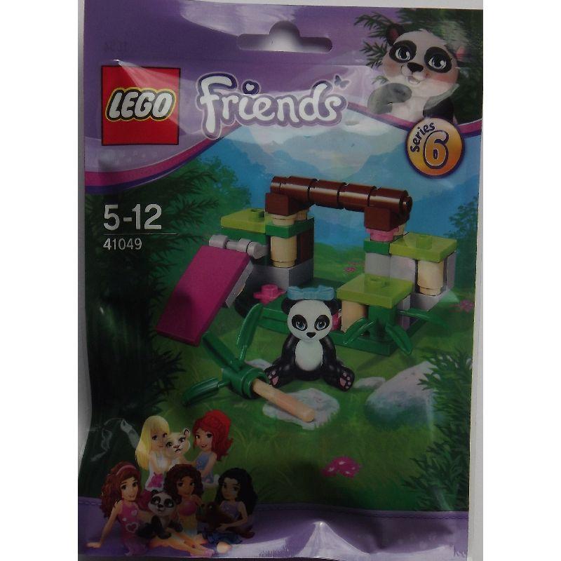Lego Friends, en s�d lille panda, med landskab