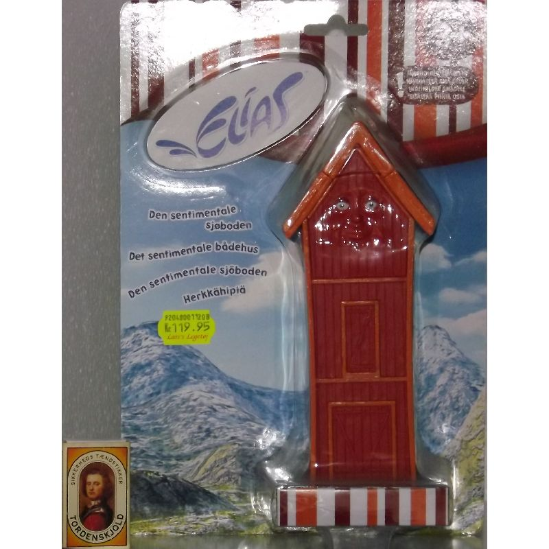 Det sentimentale bådehus  fra den populære Elisa-serie. Brug det på legemåtten